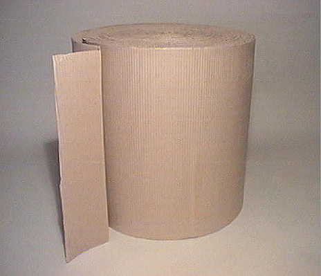 roll of corrugated card