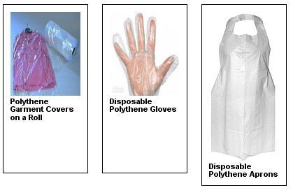 protective polythene items page