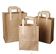 Photo of brown paper carriers