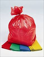 Picture of coloured refuse sacks