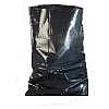 Picture of a black polythene rubble sack