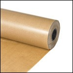 Photo of a roll of waxed kraft paper