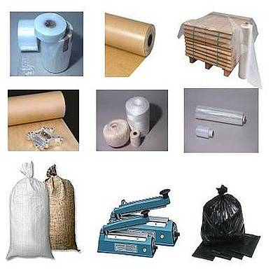 Photo of some Industrial Packaging